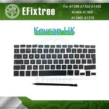 10 Sets Keys UK Keyboard For Macbook Pro Air 13'' 15'' A1370 A1465 A1466 A1369 A1425 A1398 A1502 Key Caps Keycap 2010-2015