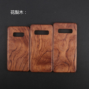 Image 4 - For Samsung Galaxy S10 /S10+/S10e S20/S20+/S20 Ultra walnut Enony Wood Rosewood vintage MAHOGANY Wooden Back Slim Case Cover