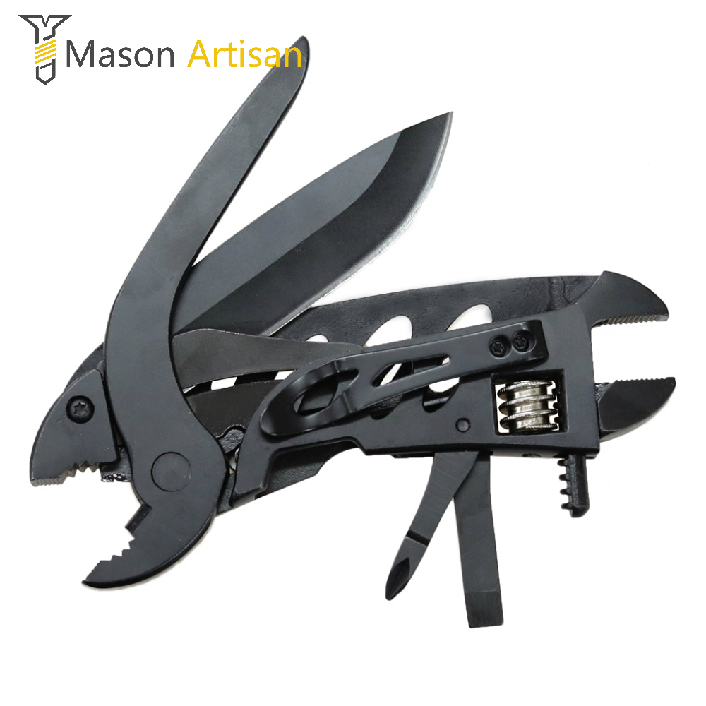 Multi Tools Multitool Multifunction Pliers Outdoor Survival Folding Knife Wrench Screwdriver Bit Multitul outdoor multifunction camping tools axe aluminum folding tomahawk axe fire fighting rescue survival hatchet