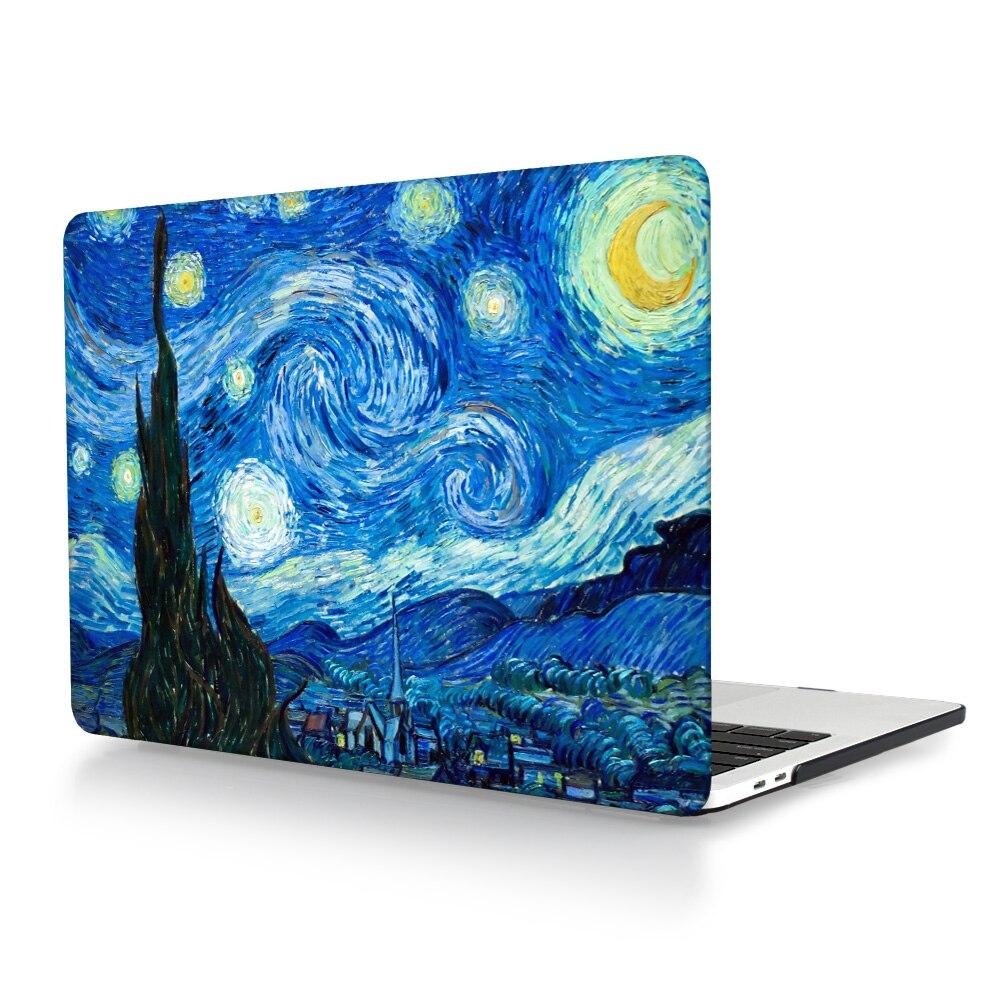 Starry Night Laptop Case for Macbook Pro 13 15 Case A1706 A1708 A1707 - Նոթբուքի պարագաներ - Լուսանկար 4