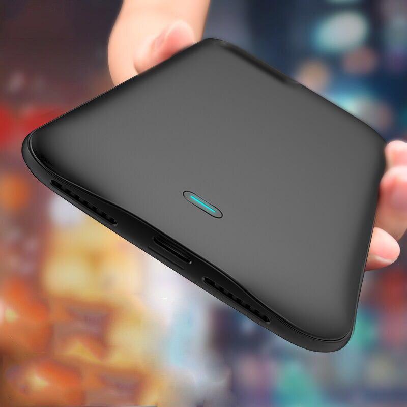 imágenes para 7300 mAh Para el iphone 6 más Casos de Copia de seguridad de Banco De la Energía Cargador de Batería Externa Para el iphone de Apple 7 Más La Batería caso