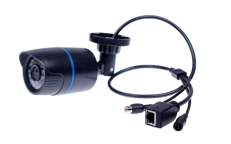 HI3516C + 1/2.8 SONY IMX322 IP Camera Audio 2MP Camera IP With External Microphone Pickup Outdoor Bullet CCTV 1080P
