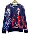 3D Rock Roll Winter sweatshirts Harajuku michael jackson Hip Hop casual women/men hoodies plus size S-XXL Free shipping
