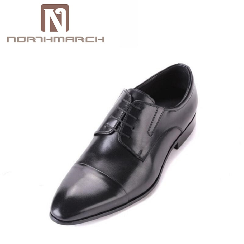 NORTHMARCH Luxury Men Flats Brand New Genuine Leather Oxford Shoes Men Work Business Lace Up Dress Shoes sapatos masculinos genuine leather oxfords shoes men flats casual new lace up shoes men oxford fashion dress shoes work shoe sapatos big size 47 48