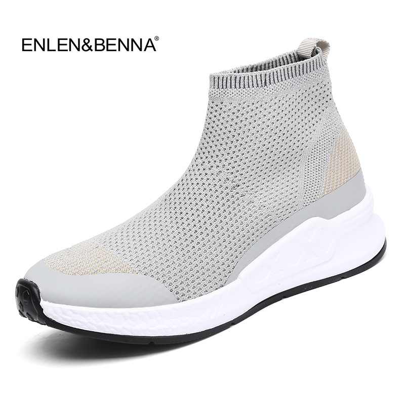 Women Casual Shoes 2018 New Arrival Women Fashion Breathable Sock Shoes Flat Platfom Slip-on Loafers Size 40 ultralight Sneakers