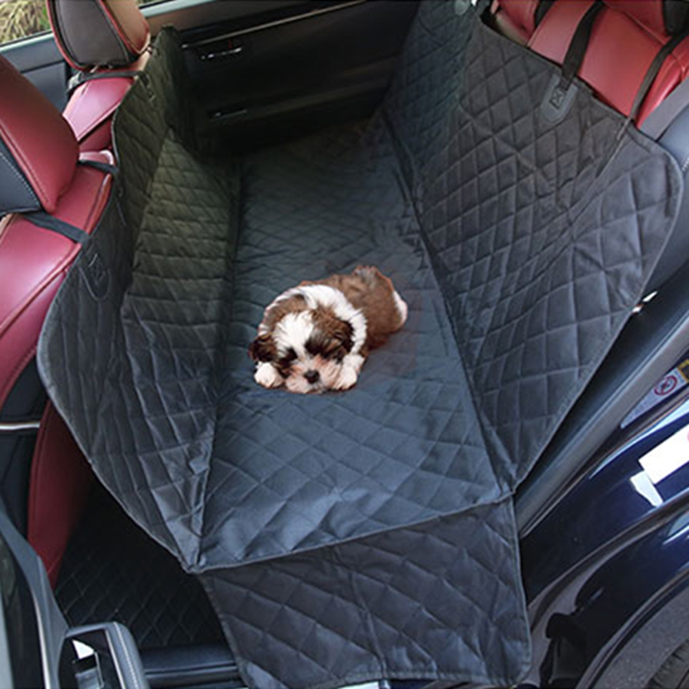 Waterproof Oxford Cloth Car Seat Covers for Dog Anti-scratch Auto Vehicle Seat Anti-dirt Cover for Pet Cat Car Trunk Accessories pet outdoor oxford cloth backpack for dog cat pink white black