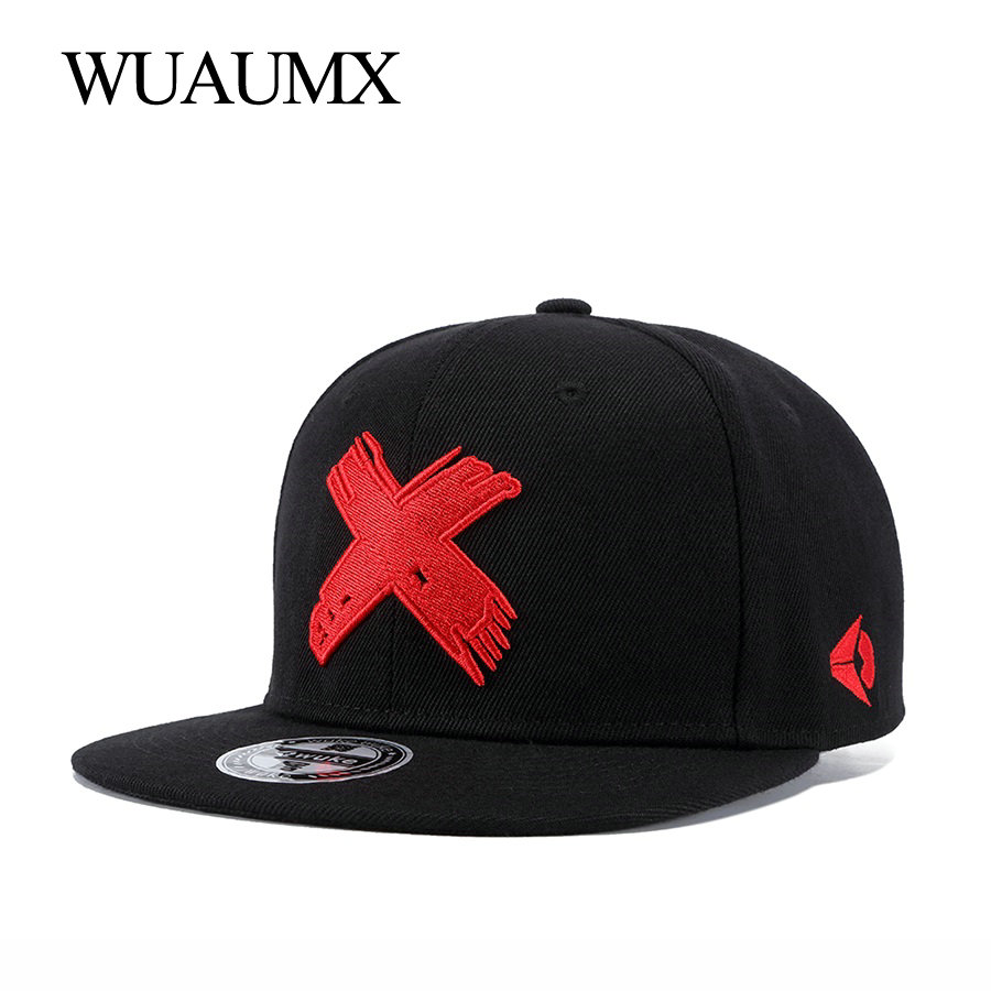 Wuaumx Snapback-Caps Baseball-Cap Fitted Classic Branded Dancer-Hat Casquette Embroidery