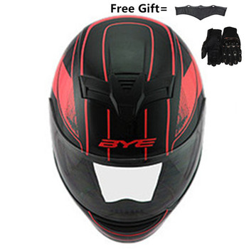 цена на full face helmet motorcycle helmets Racing dot capacete de moto motociclista para Motocross kask casco M L XL XXXL Matte black