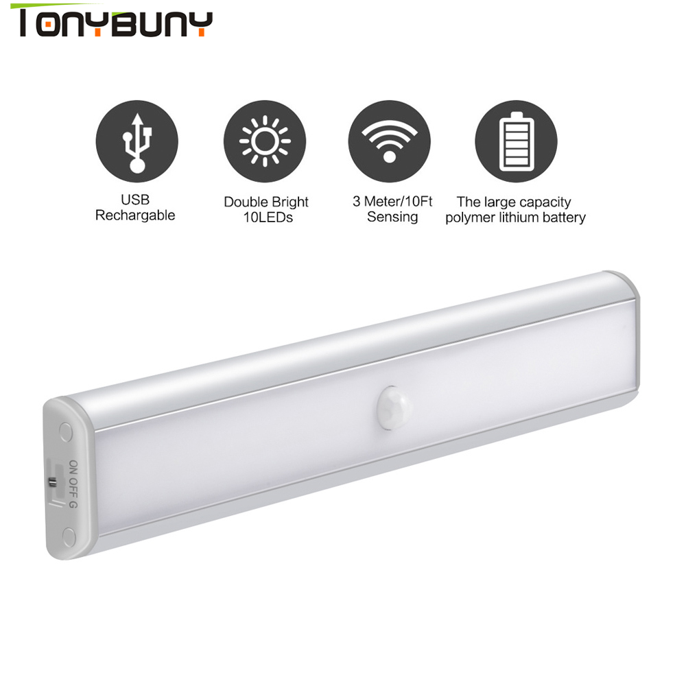 Gloeilampen Led Touch Body Motion Sensor Night Light Onder