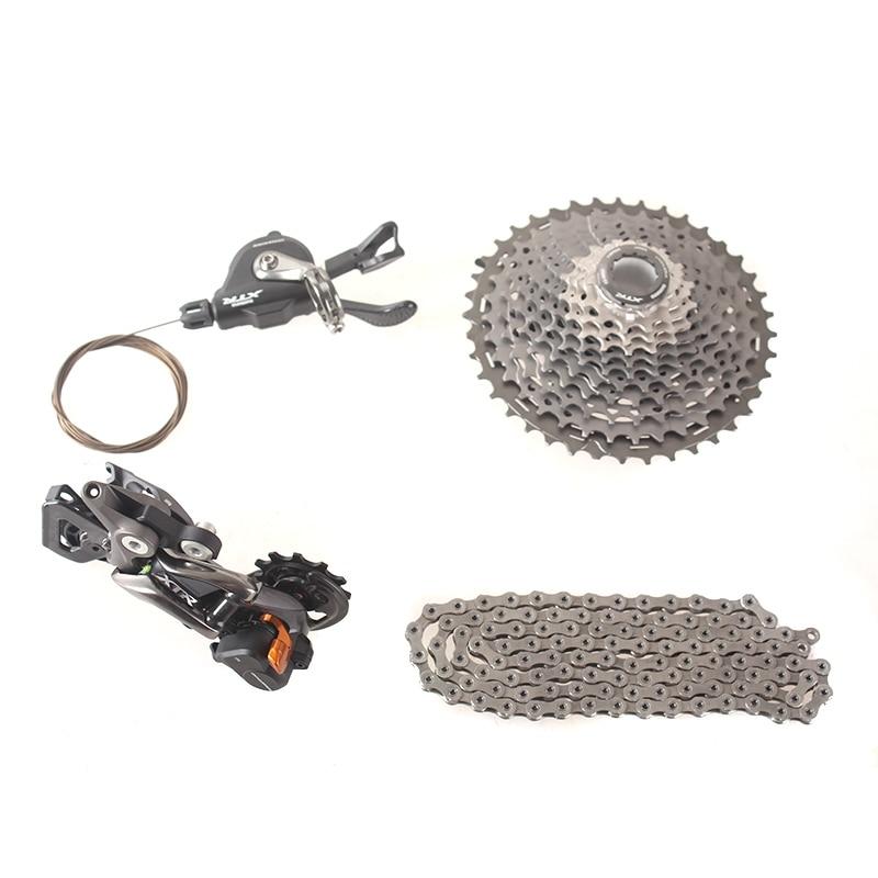 SHIMANO M9000 1x11 11 s Скорость список групп Drivertrain MTB горный велосипед содержит рычаг переключения и сзади Dearilleur и кассеты и цепочкой