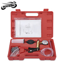 Multi-functional Hand Held Vacuum Pump Tester Set Brake Bleeder Bleeding Tool Kit Diagnostic Tool with Vacuum Gauge