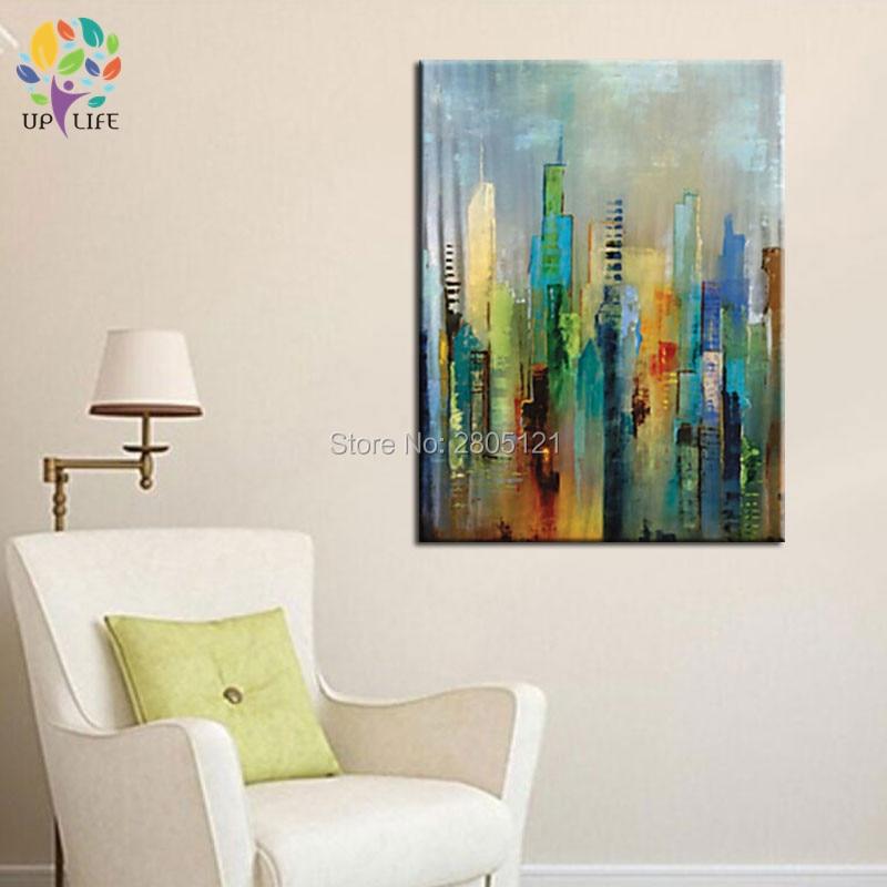 Μεγάλη 100% ζωγραφισμένη στο χέρι θέα - Διακόσμηση σπιτιού - Φωτογραφία 5