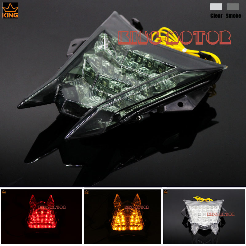 For BMW S1000RR S1000R HP4 Motorcycle Accessories Integrated LED Tail Light Turn signal Blinker Smoke