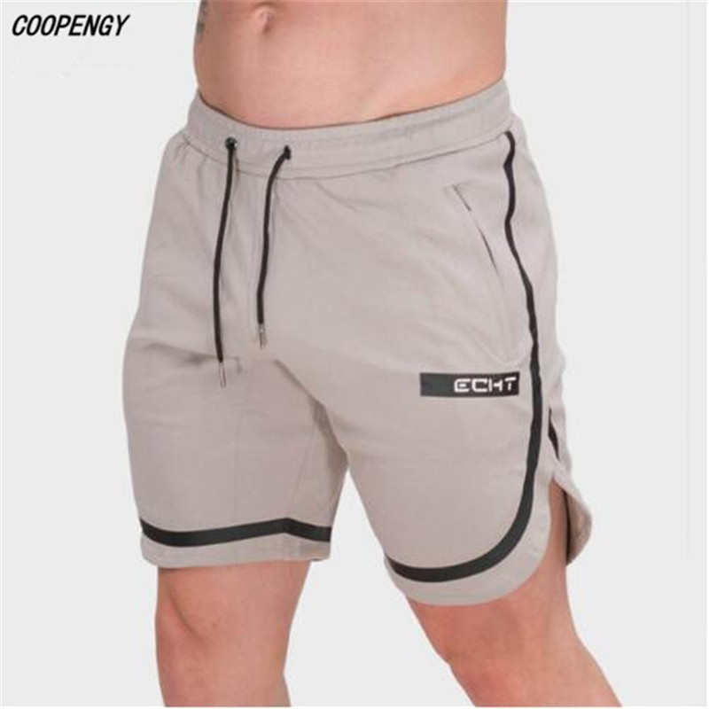 COOPENGY Mens Casual Fashion Cotton Shorts Mens 2018 Summer New ts Mens Gyms Fitness Drawstring Shor