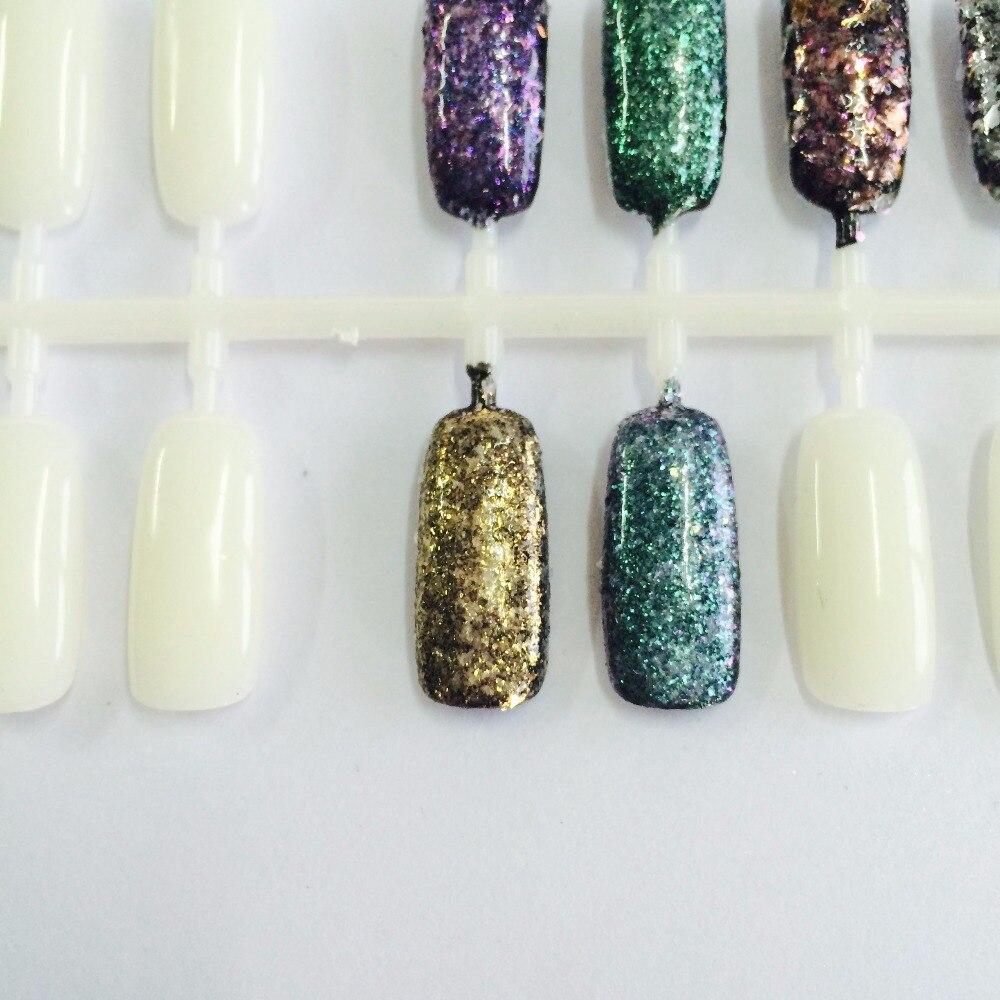 50g Diamant Pigmente Unregelmäßigen Flakes Form Nagel Glitter ...