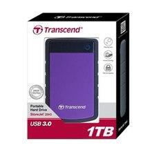 U.S. Military-grado de la Protección Anti-shock 25H3 Transcend USB 3.0 Disco Duro Externo de 1 TB HDD Disco Duro unidad 1 T 1000 GB De Almacenamiento