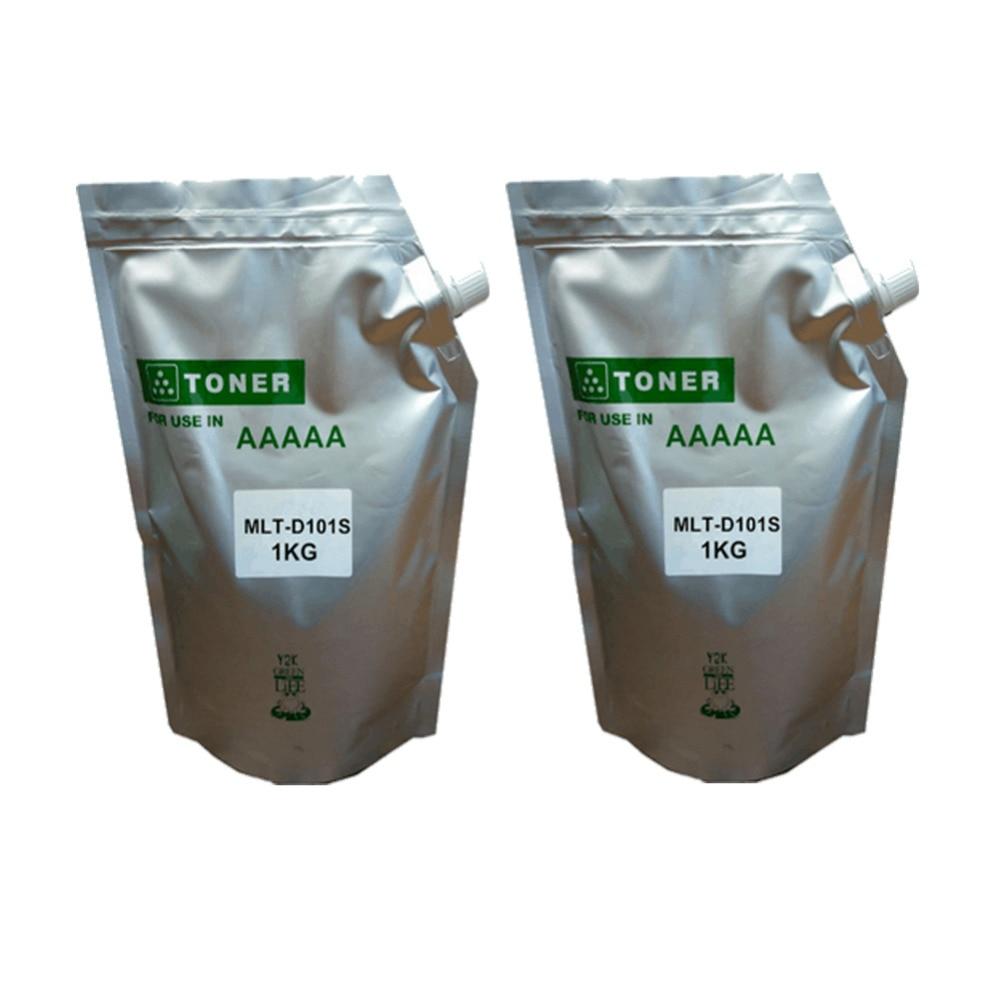2kg black d101s refill toner powder for samsung mlt-d101s 101s ML-2165W ML-2166W ML-2168W ML-2160 ML-2161 ML-2162 powder for samsung mlt d104 s xil powder for samsung mlt 104 s xaa powder black compatible toner powder free shipping