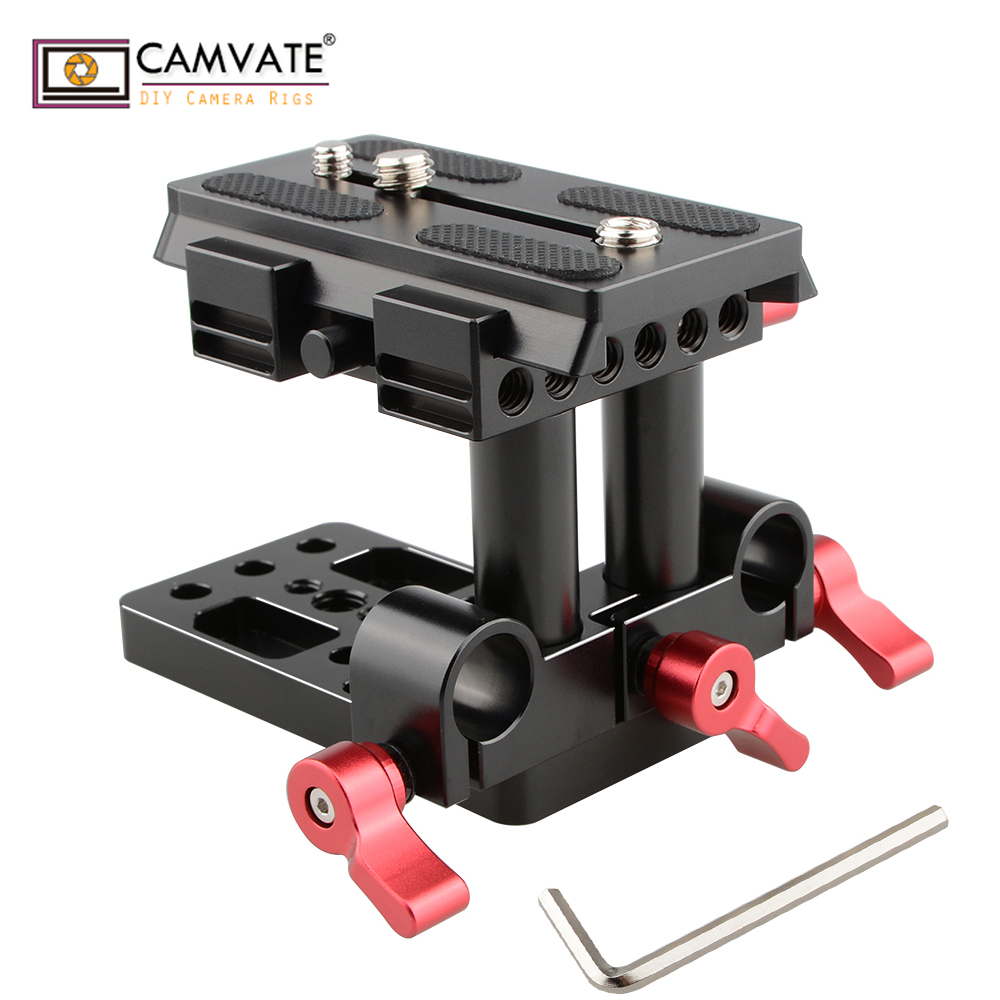 mount accessory CAMVATE Quick Release Mount Base QR Plate for Manfrotto Standard Accessory C1436 camera photography accessories (2)