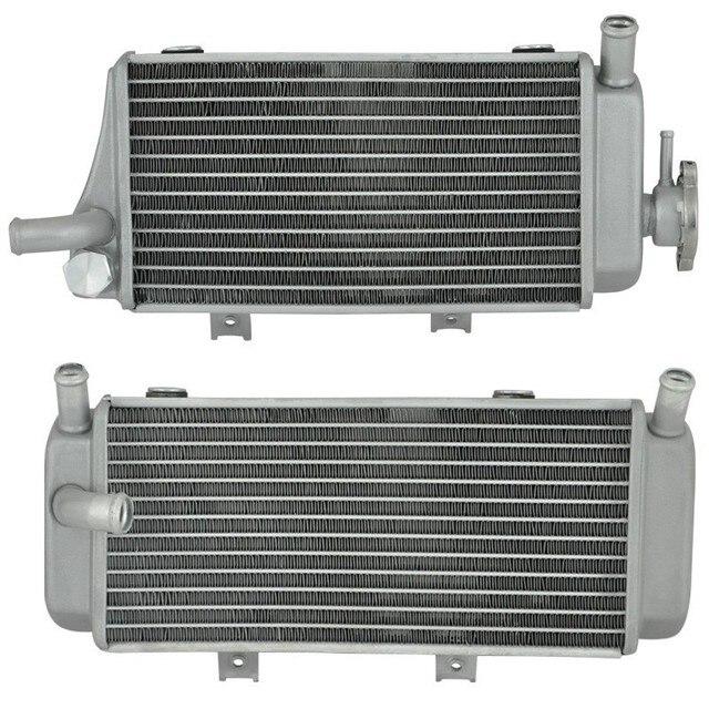 Мотоцикл Алюминиевый Радиатор Охлаждения Для Honda CRF450R 2005 2006 2007 2008 CRF450 R 05 06 07 08 CRF 450R Включите Левой И право