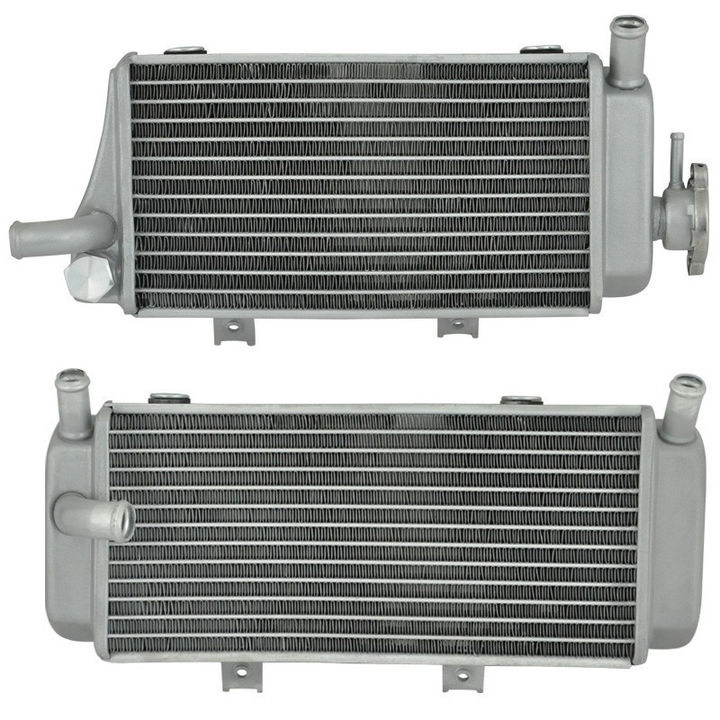 Motorcycle Aluminium Cooling Radiator For Honda CRF450X 2005 2006 2007 2008 CRF450 X 05 06 07 08 CRF 450X Left & Right for honda crf 250r 450r 2004 2006 crf 250x 450x 2004 2015 red motorcycle dirt bike off road cnc pivot brake clutch lever