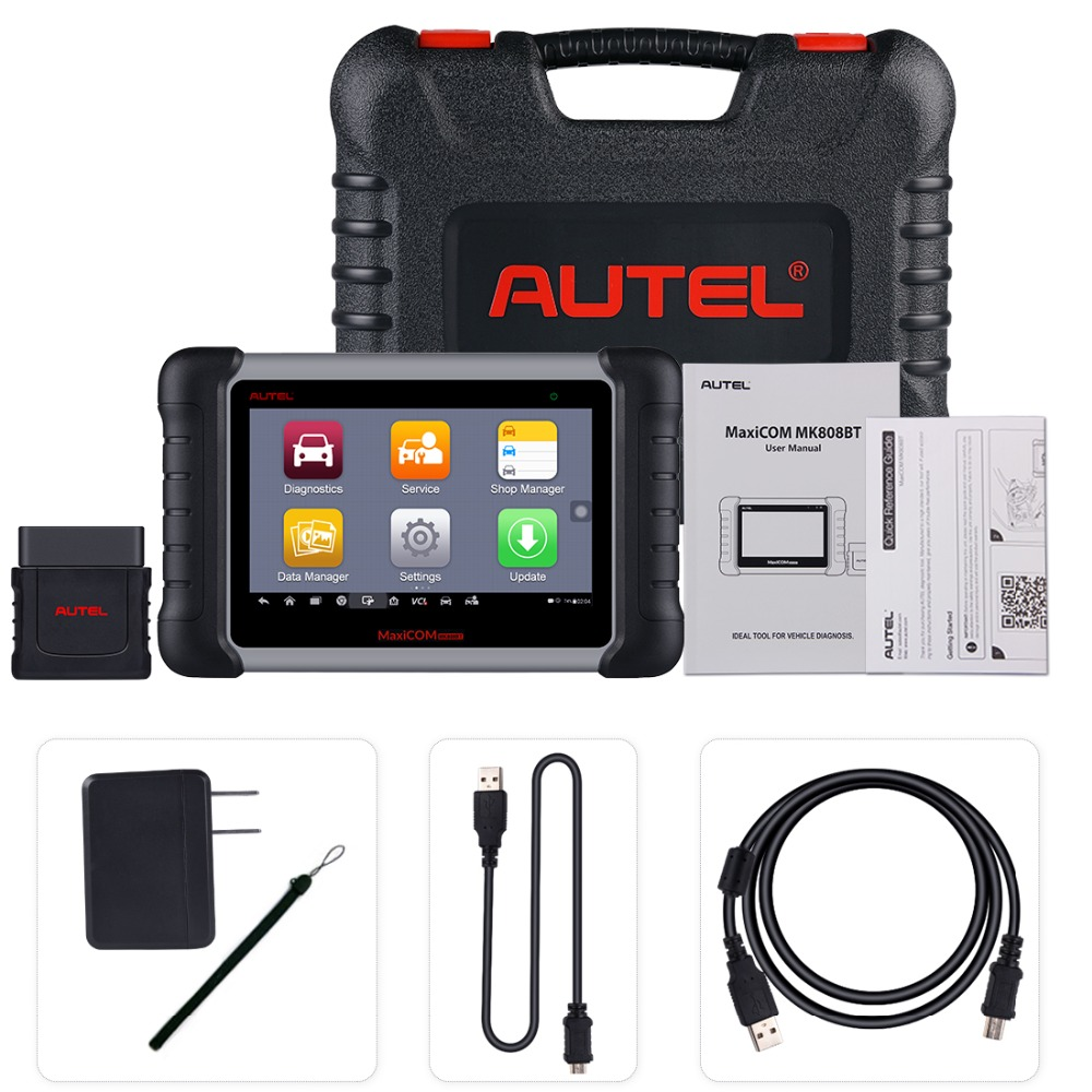 Image 5 - Autel MK808BT OBD2 Scanner Diagnostic Auto Tool OBD 2 Automotive Code Reader ODB2 Key Programmer Diagnosis Better To Launch X431-in Code Readers & Scan Tools from Automobiles & Motorcycles