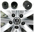 New 20pcs/set 17mm Car Plastic Caps Bolts Head Covers Nuts Alloy Wheel Protectors For Fits VW Jetta Golf Passat CC with tools
