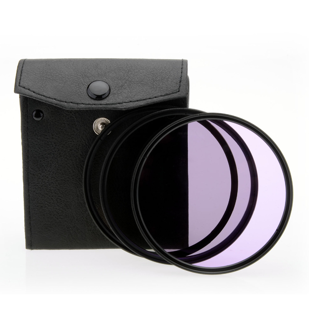 JUST NOW Universal 82mm UV CPL FLD Camera Lens Filter Kit for Canon for Nikon for