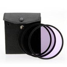 SÓLO AHORA Universal 82mm UV + CPL + FLD Filtro de La Lente kit para canon para nikon para sony y otra cámara digital 82mm lente
