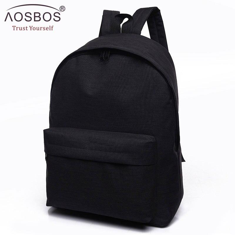 Женский и мужской холщовый черный рюкзак для студентов колледжа, школьный рюкзак, сумки для подростков, Mochila, повседневный рюкзак, дорожный рюкзак Рюкзаки      АлиЭкспресс - Мужские рюкзаки