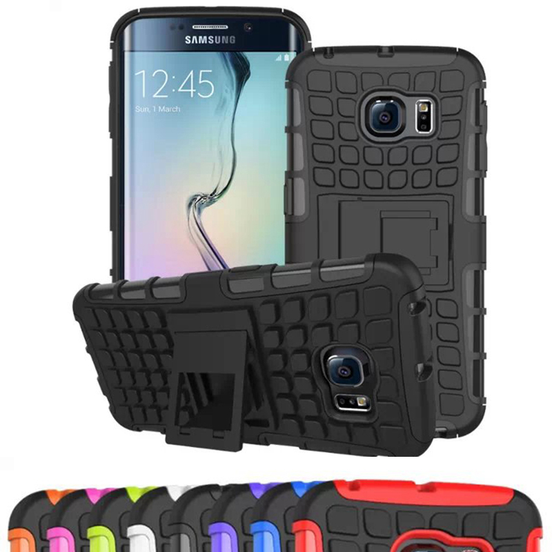 Heavy Duty Armor Shockproof Hard Hybird Silicone Phone Case for <font><b>Samsung</b></font> <font><b>Galaxy</b></font> S7 S6 Edge J3 J5 J7 <font><b>2016</b></font> J1 A3 A5 A7 Grand Prime image