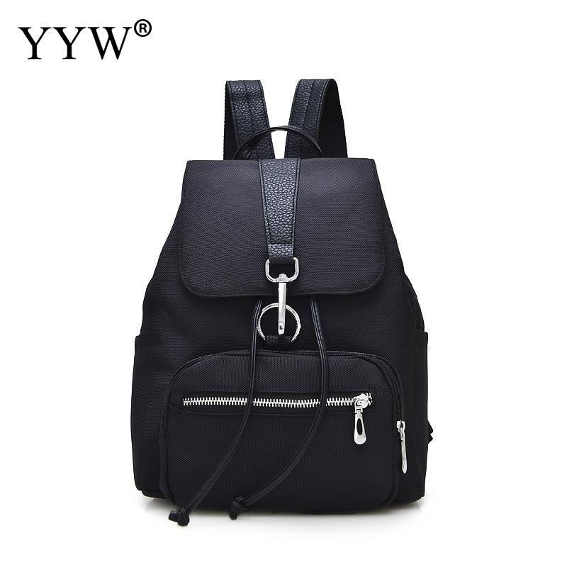 YYW Oxford Backpack Fashion WomenS Backpack School Student Back Pack Female Black Sofebags Rucksack Mochila Backpack Girls Sac
