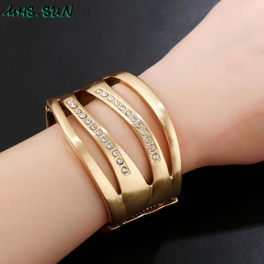 8,CB008,$5.85,Punk Hollow Ladies Women Bangle Bracelets Fashion Exaggerated Girls Bangles Bracelets European Female Jewelry For Gift