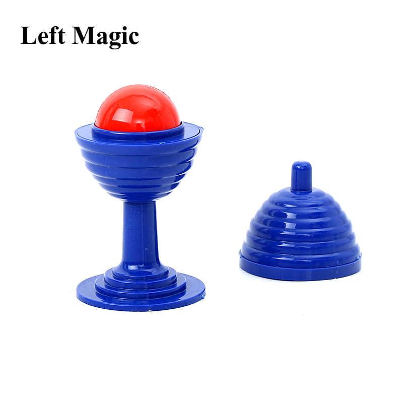 10 سنتيمتر الكرة و زهرية الخدع السحرية الوهم الدعائم الاكسسوارات Mentalism سهلة للقيام الأطفال الاطفال لعبة سحرية هدية الكريسماس