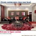 Новая Зеландия чистая шерсть ручной ковровое покрытие футон ковер в гостиной стол кабинета круглые большие цветы на заказ