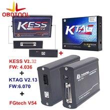 DHL Kess v2 V2.32 V5.017+KTAG K-TAG V2.23 V7.020+FG tech V54 ECU Programming Tool ECU Chip Turning No Token Limited