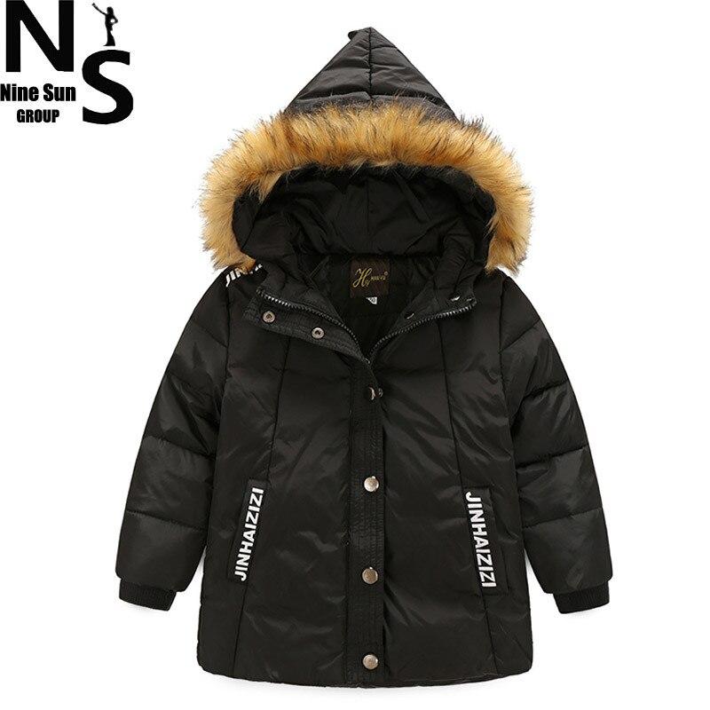 ÜST NS için bir Çocuk Için Çocuk Giyim Kat Aşağı 2017 Kış Erkek kış Için Mont Ördek aşağı Ceket Erkek Kapüşonlu 6 8 Ile 9 Yıl