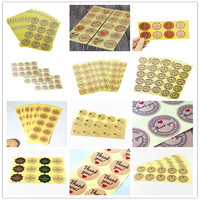 Adhesive stickers custom advertising seal stickers custom logo label Design Your Own Stickers Personalized stickers