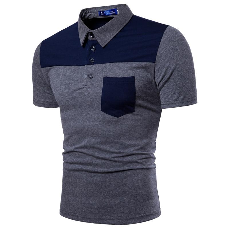 FleißIg 2019 Baumwolle Plus Größe M-3xl Marke Neue Männer Polo-shirt Hohe Qualität Männer Baumwolle Kurzarm Shirt Marken Sommer Herren Polo Shirts