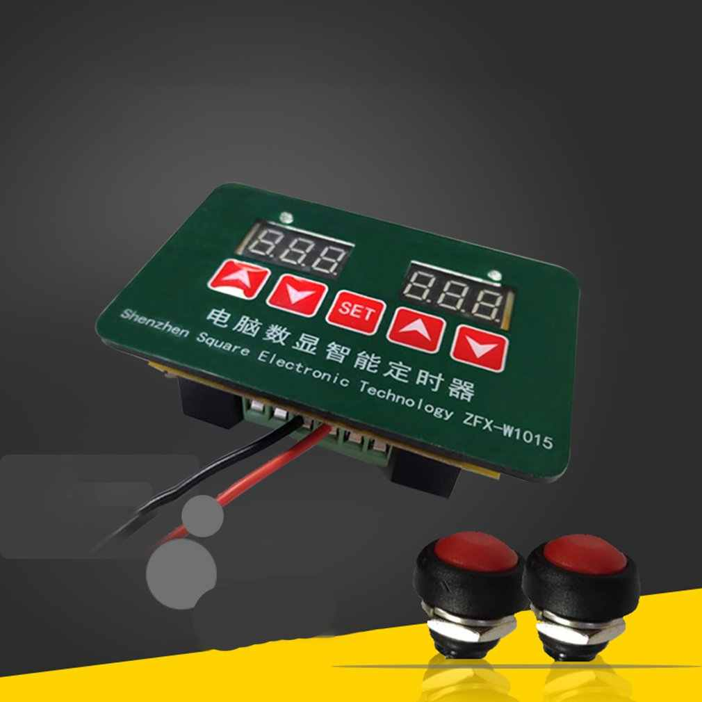 ZFX-W1015 многофункциональный DIY Kit модуль цифровой светодиодный электронный таймер часы части компоненты Diy Электронные Наборы