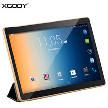 XGODY KT096H 3G Tableta de la Llamada de Teléfono de 9.7 Pulgadas Dual Sim Cards Android 4.4 MTK MT6582 Quad Core 1 GB RAM 16 GB ROM Tablet PC OTG WiFi
