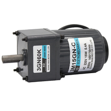 3I/RK15GN-C 220V AC Adjustable Speed Motor, 15W Unidirectional Low Speed Motor, Induction Motor, Mini Gear Reducer Motor