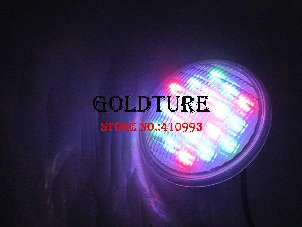 18W 36w 54w RGB led par56 pool light 12v par56 led pool lamp ip68 underwater PAR56 LED pool light piscina warm white cold white
