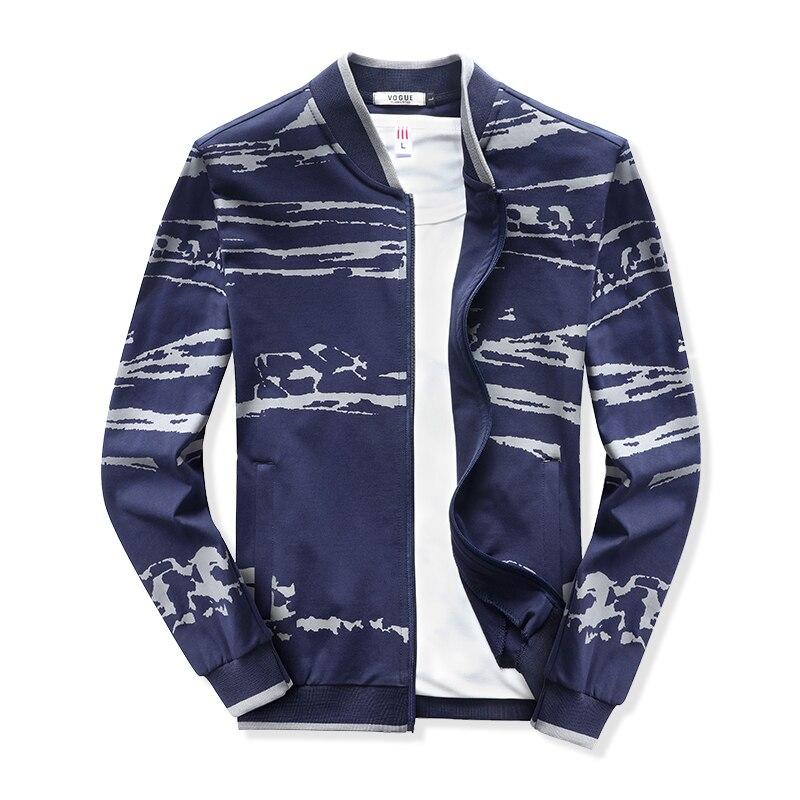 125kg Can Wear Men Sport Coat Windproof Golf Jacket Baseball Collar Sportswear Tops Stripe Pattern Big Size 7XL 8XL Gym Clothing are new men s big yards to wear down jacket warm fur collar with fertilizer increased fat leisure jacket 8xl 7xl 6xl 5xl 4xl 3xl