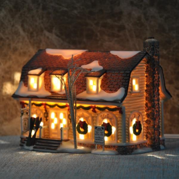 Die Columbia Hotel Modell Hohe Temperatur Keramik Kunsthandwerk Hause Wohnzimmer Nachtlicht Haus Dekoration Exquisite Handwerk