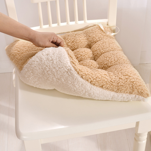 Comfortable Cushions Square Seat Cushion Soft Chair Cushion Coussin  Decorative Pillows Floor Seat Mat Office Chair