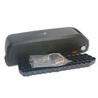 В 48 В в или 36 В Электрический bicylce батарея коробка для хранения + e-bike вниз трубки батарея чехол с 18650 Держатель ячейки и контроллер коробка