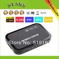 1080 P full HD media player de vídeo Center com HDMI VGA AV USB SD/MMC Porta Controle Remoto, Dropshipping