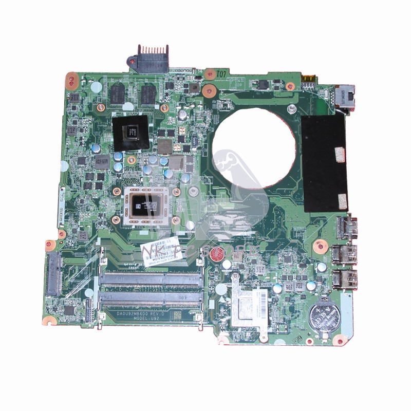 Notebook PC Motherboard For HP Pavilion 15 15-N 15Z-N100 Main board 737138-501 737138-001 A10-4655M CPU 8670M 2GB DDR3 laptop notebook motherboard system board 734826 501 734826 001 for hp pavilion touchsmart 15 15 n a4 5000m series 100% tested