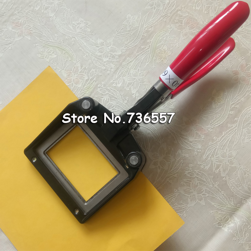 Hand Held ID Card License Photo Picture Punch ID Picture Cutter 40mm x 60mm Right Corner Passport photo cutter Rectangle Cutter