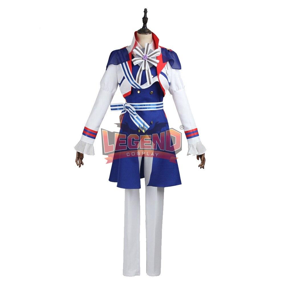 Anime B-project Kodou Ambitious  Korekuni Ryuji Cosplay Costume Coat adult costume halloween costume custom made full set